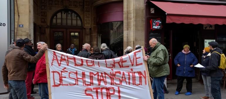 Grève à l'AAHJ, contre la mise à l'écart du directeur