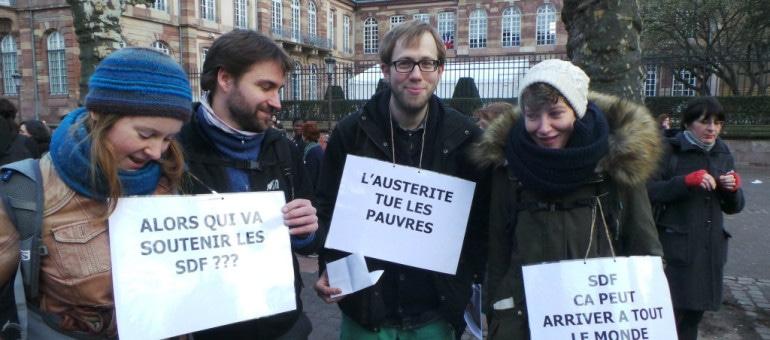 Manifestation mardi contre les coupes budgétaires départementales