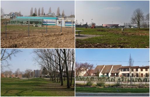 Parc des sports et plaine des jeux à Hautepierre (Photos MM / Rue89 Strasbourg)