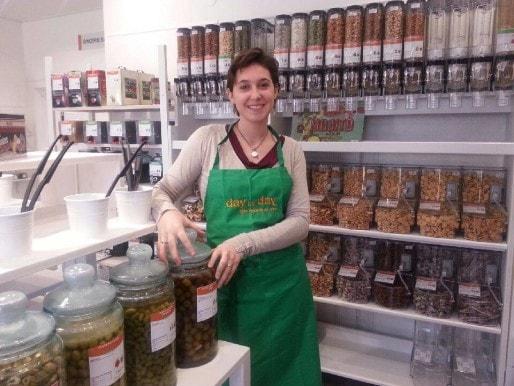 A Neudorf, Céline gère day by day, magasin qui propose des produits en vrac. Il a ouvert (photo Facebook)