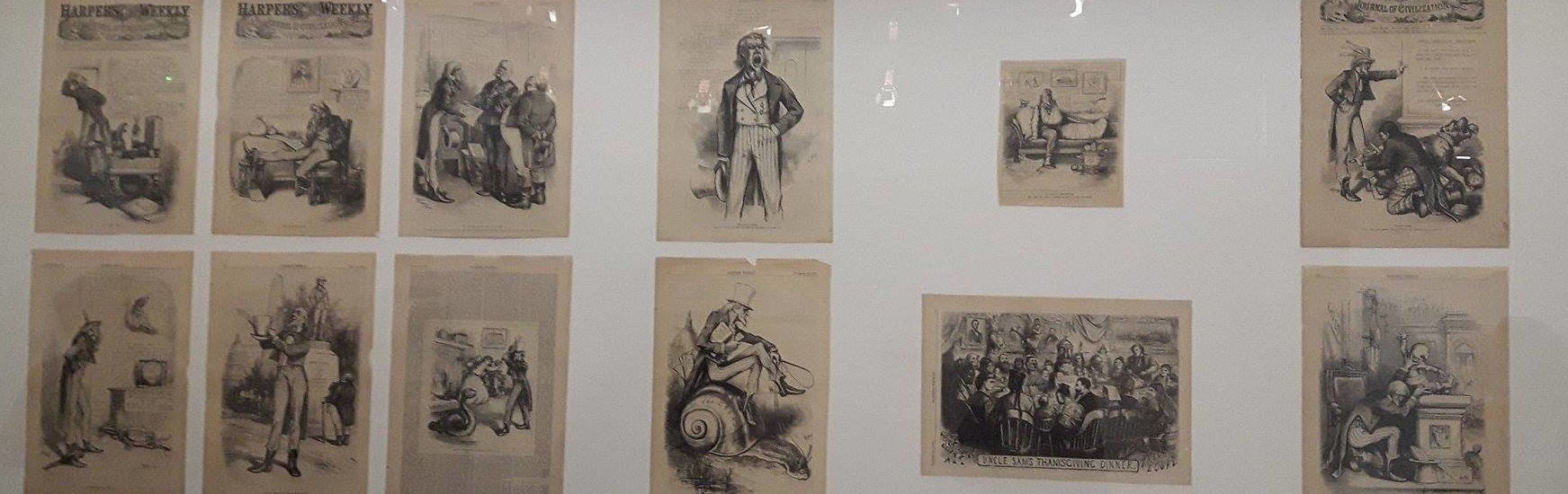 Satire politique et sociale de l'Amérique au musée Tomi Ungerer