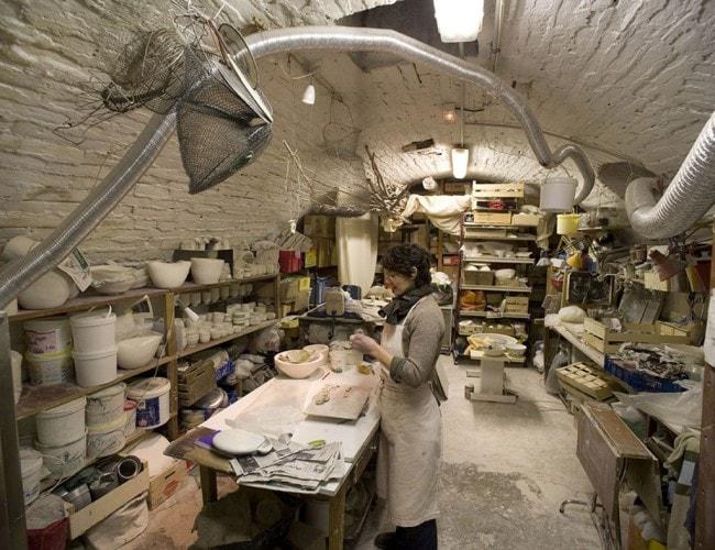 Découvrez l'atelier de Barbara Leboeuf, 13 rue Saint Hélène (Photo J.B. Dorner / ateliersouverts.net)