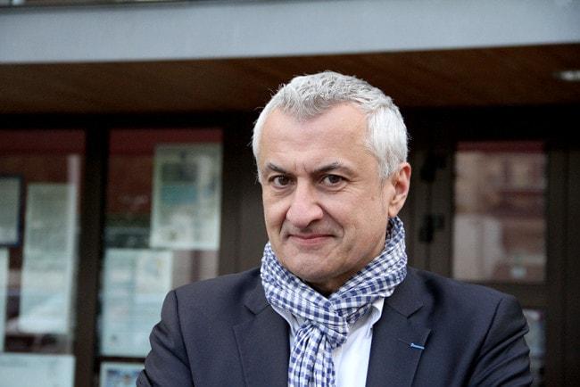 Thierry Speitel Gotz est à l'initiative du projet de fusion Kaysersberg-Vignoble. (photo Auriane Poillet / Rue89 Strasbourg)