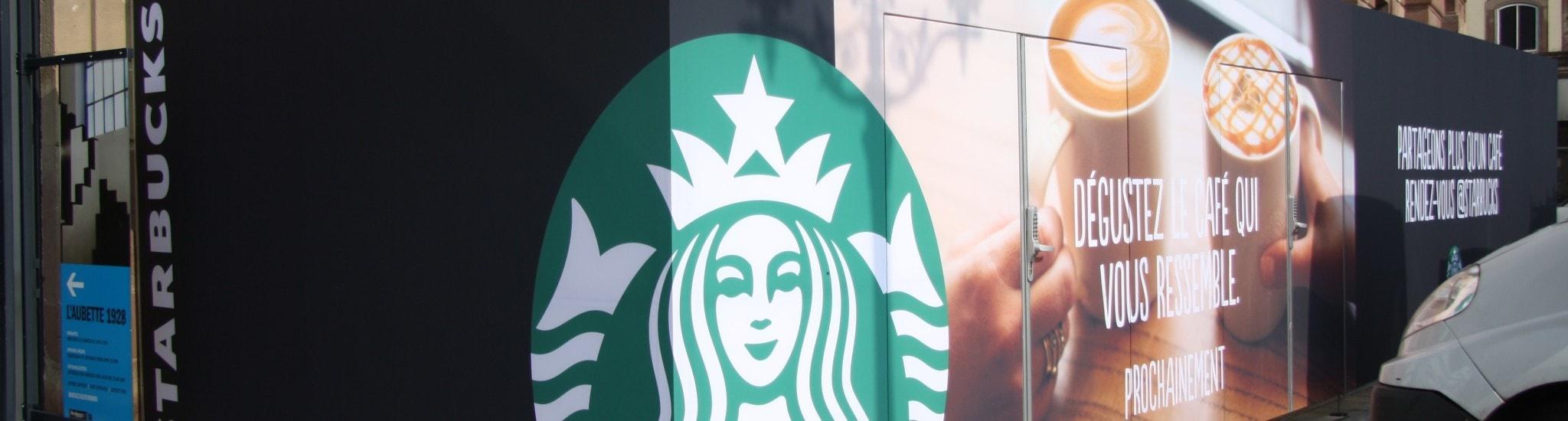 Starbucks à Strasbourg, tapis rouge pour les rois du café cher payé