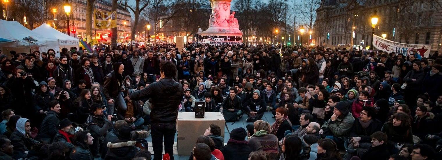 En direct – Suivez la #NuitDebout strasbourgeoise en vidéo