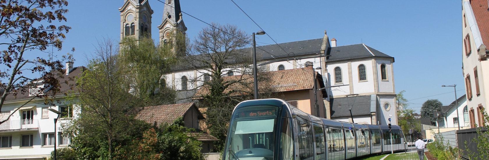 Le centre d'Illkirch-Graffenstaden raccordé au tram samedi