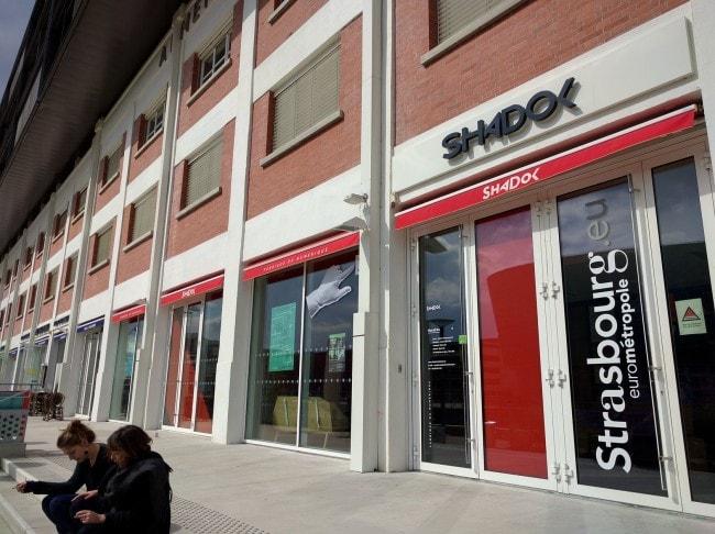 La façade du Shadok (Photo PF / Rue89 Strasbourg / cc)