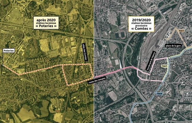 Semer le doute avant le conseil municipal, nouvelle idée du collectif pour le tram à Kœnigshoffen