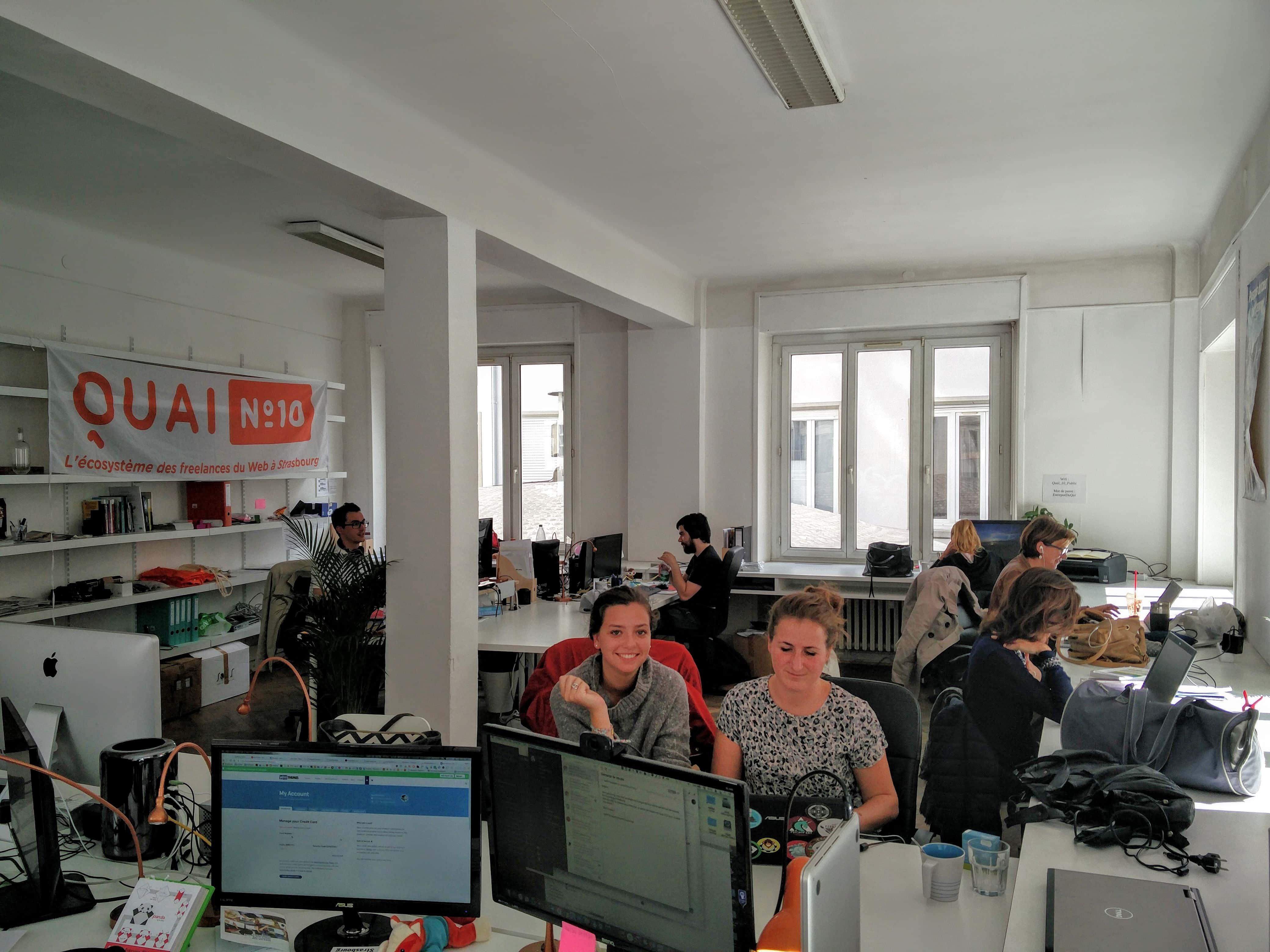 Où travailler en co working à strasbourg