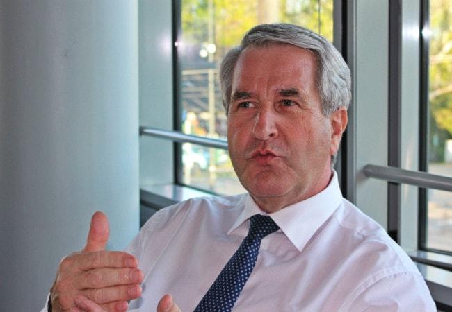 Un nouvelle compétence pour Philippe Richert (LR) président du Grand Est (Photo JFG / Rue89 Strasbourg)