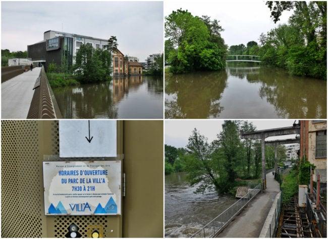 La Vill'A à Illkirch-Graffenstaden, patrimoine industriel transformé en maison de l'enseignement des arts (Photos MM / Rue89 Strasbourg)