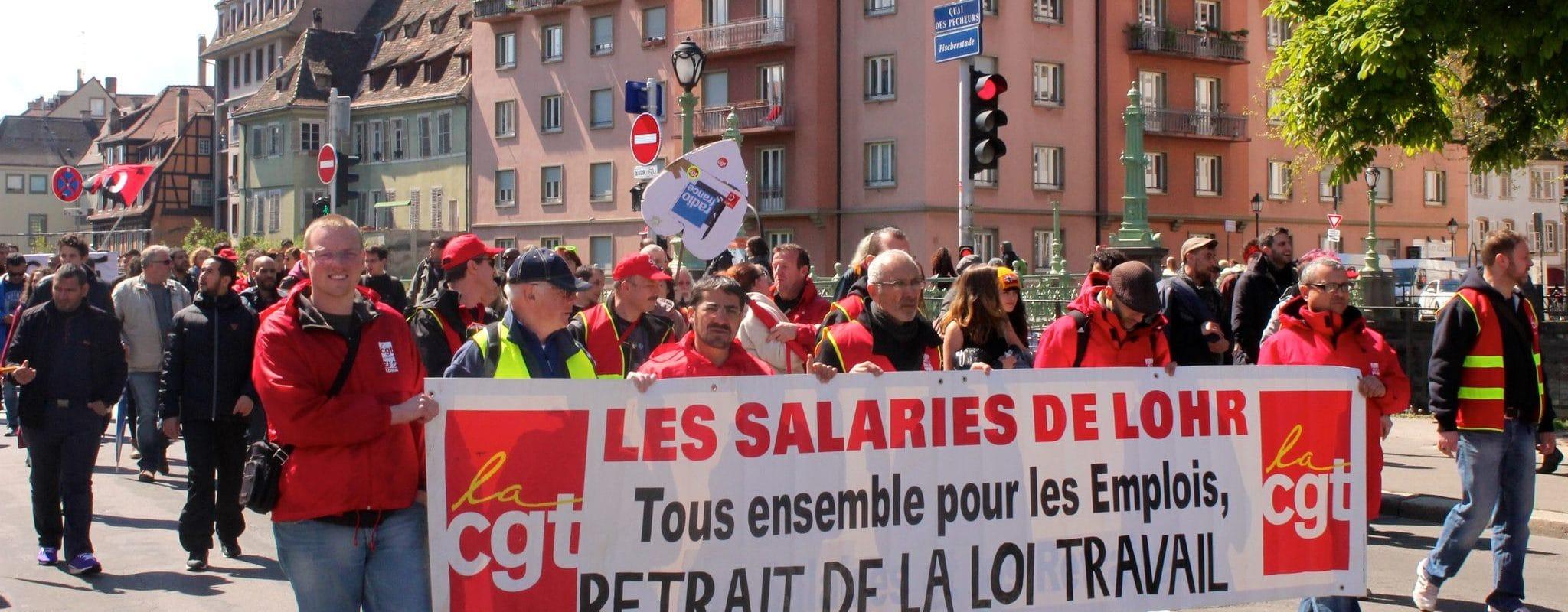 Jeudi, huitième manifestation contre la «loi travail» à Strasbourg