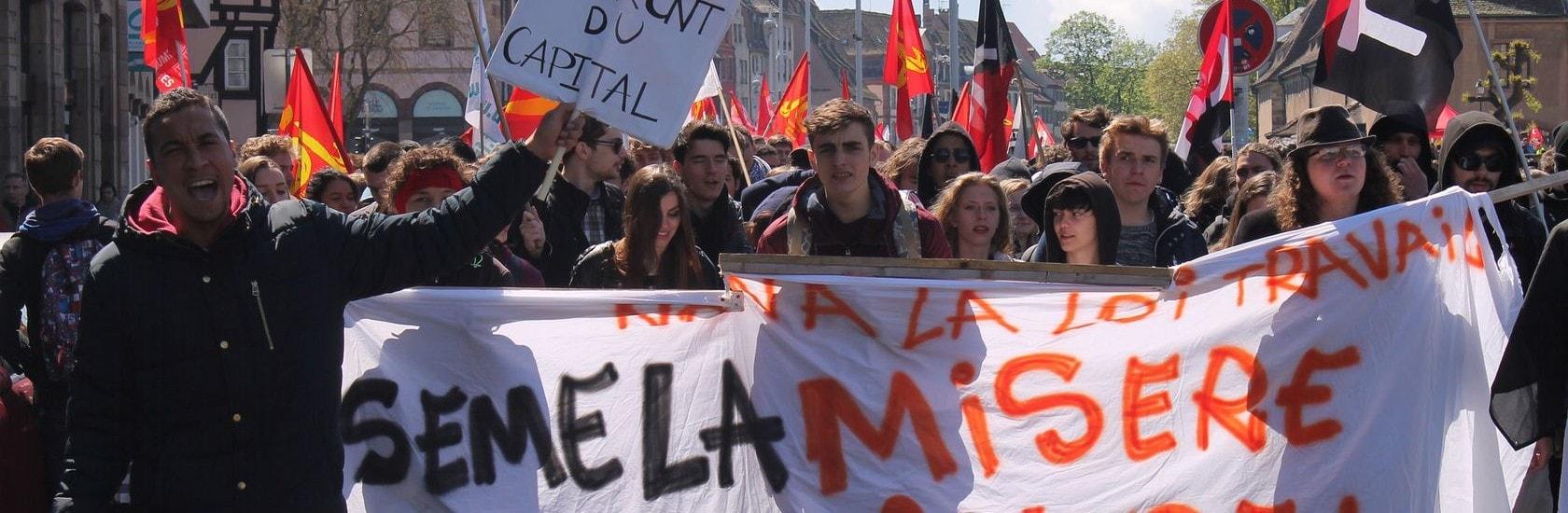 Mardi, syndicats et France Insoumise défilent contre la réforme du Code du travail