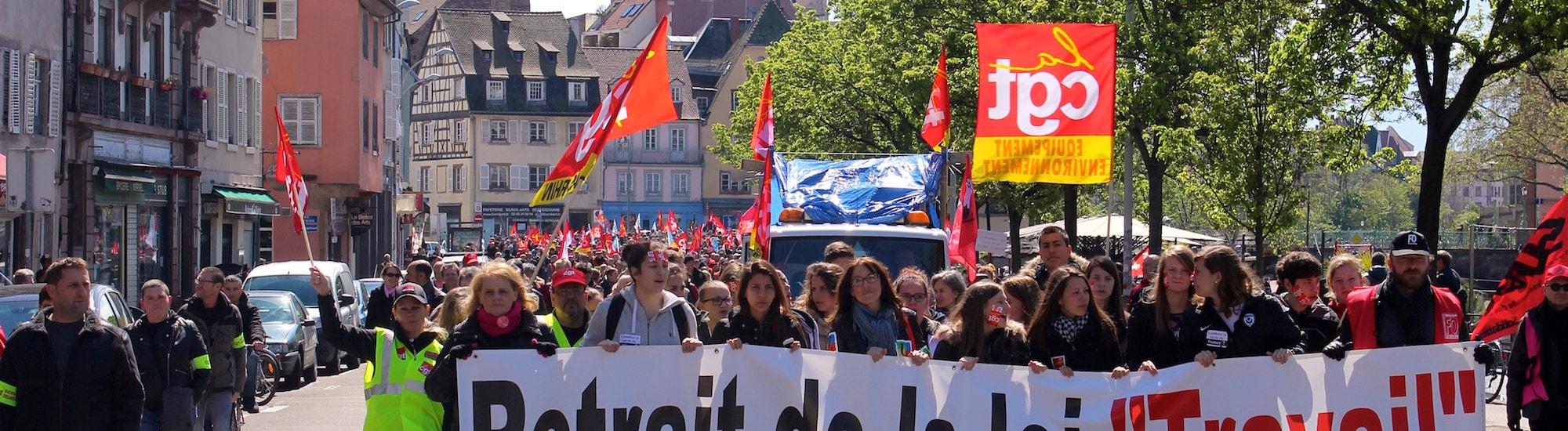Mercredi matin, manif de soutien à des syndicalistes poursuivis