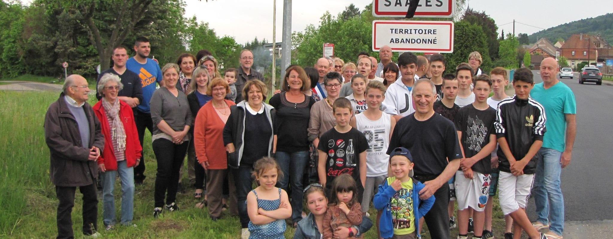 Jean Vogel, maire de Saâles: «notre commune est abandonnée»