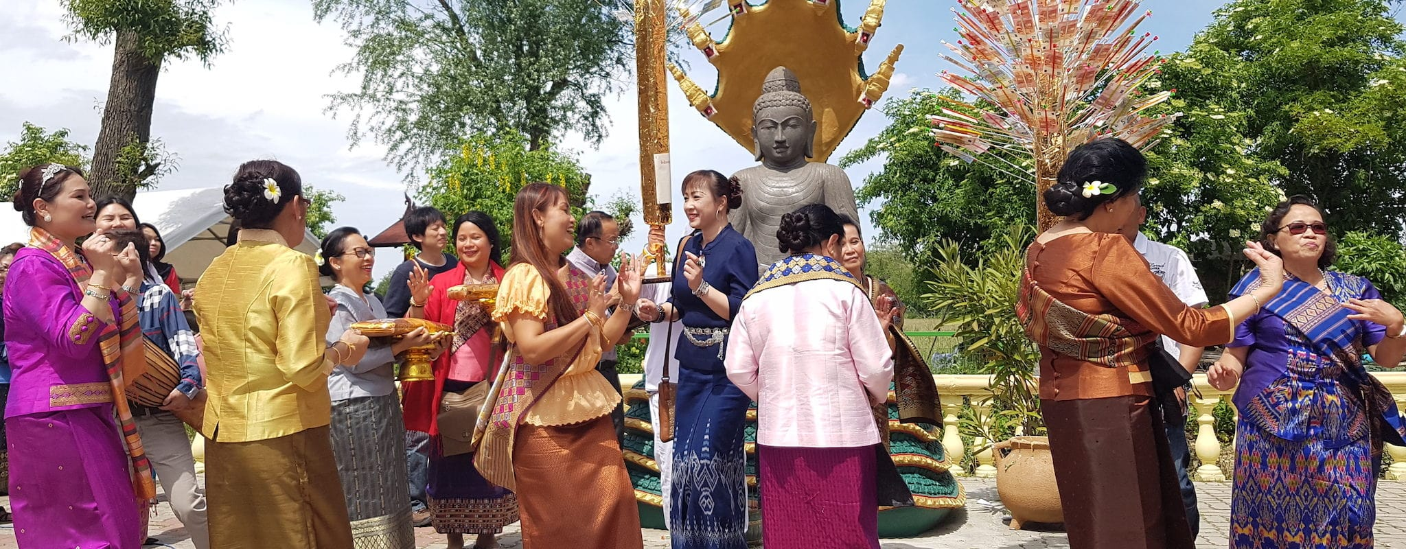 À Souffelweyersheim, Bouddhistes laotiens et Alsaciens cohabitent depuis 25 ans