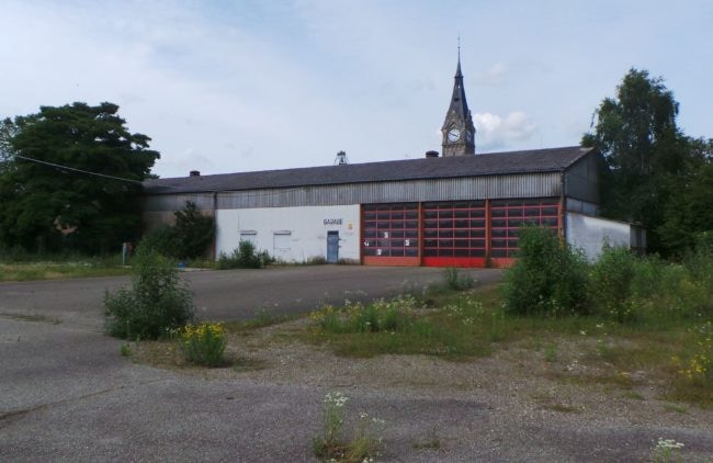 Le garage de la Coop comme il est actuellement... (Photo PF / Rue89 Strasbourg / cc)
