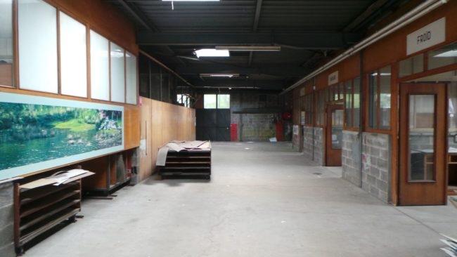 La menuiserie de la Coop ou ce qu'il en reste... (Photo PF / Rue89 Strasbourg / cc)