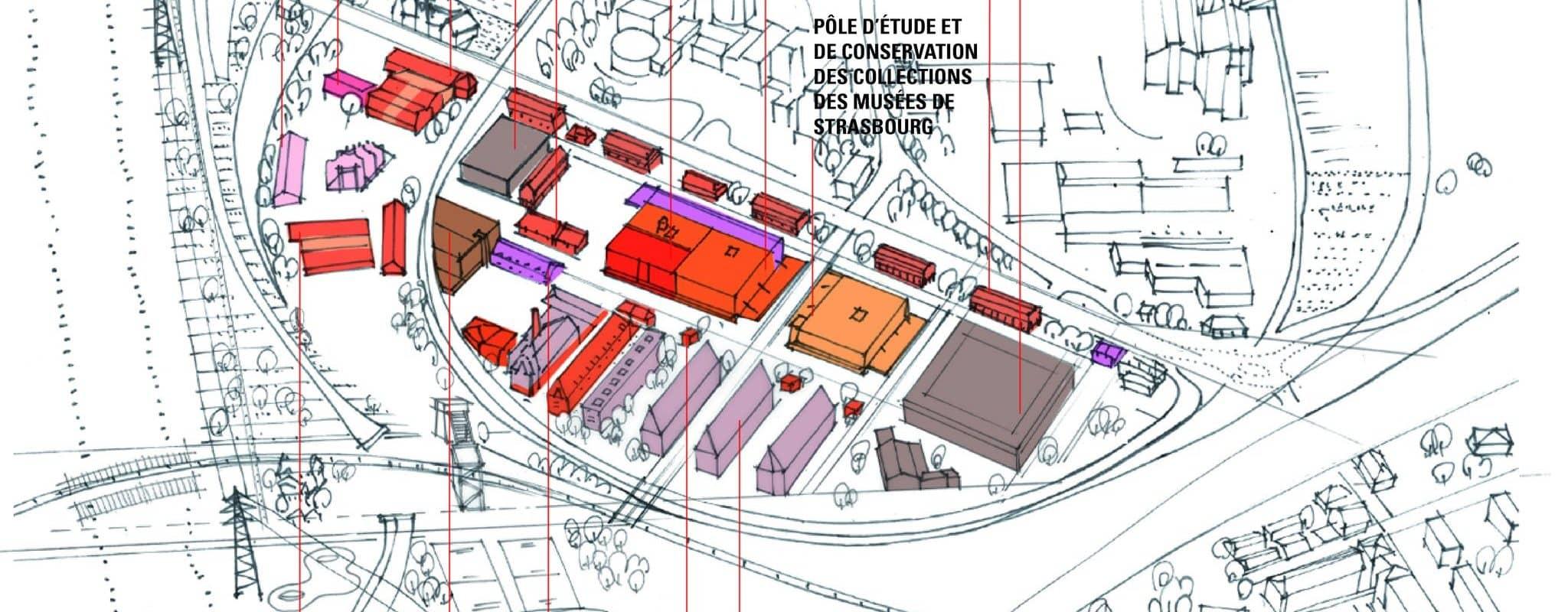 Salle d'expo, Fab lab, ateliers d'artistes et espace de co-working occuperont la partie ouest de la Coop