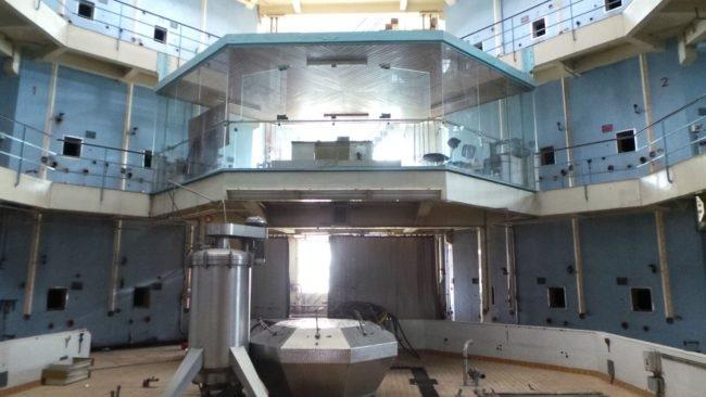 Les appels à projets pour l'utilisation de cette ancienne salle de contrôle sont les bienvenus... (Photo PF / Rue89 Strasbourg / cc)