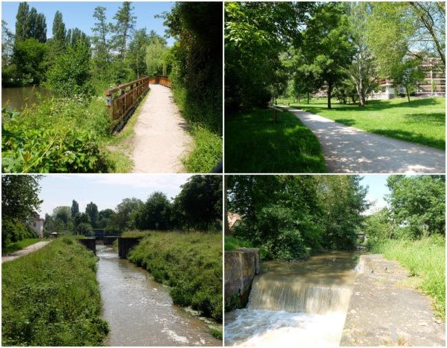 Passage de l'Illhof et écluses sur le canal de la Bruche (Photos MM / Rue89 Strasbourg)