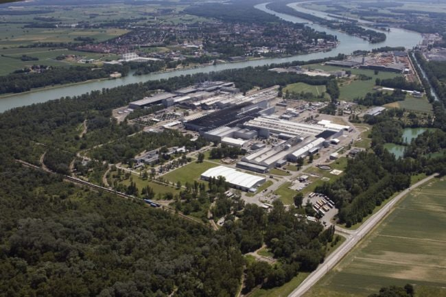 L'usine Constellium de Neuf-Brisach (doc remis)