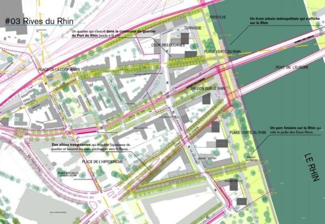 Les logements seront hauts et tournés vers le Rhin (agence TER / doc remis)