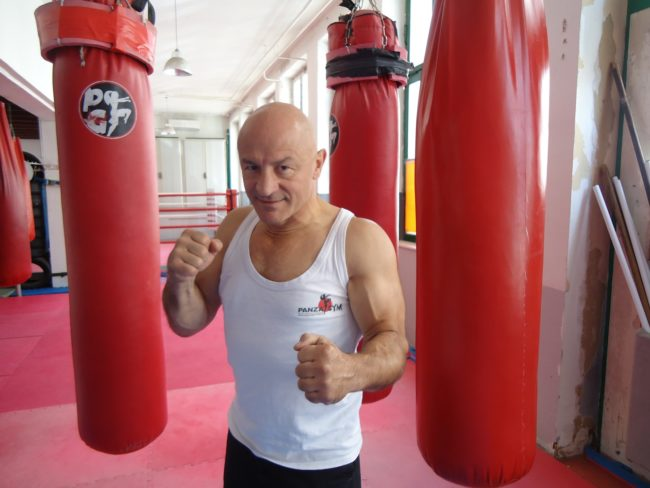 André Panza chez Panza Gym (Photo MB / Rue89 Strasbourg)