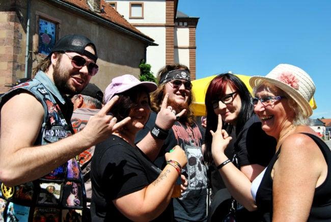 Rock'n'roll spirit. (Photo: BB/ Rue89 Strasbourg)