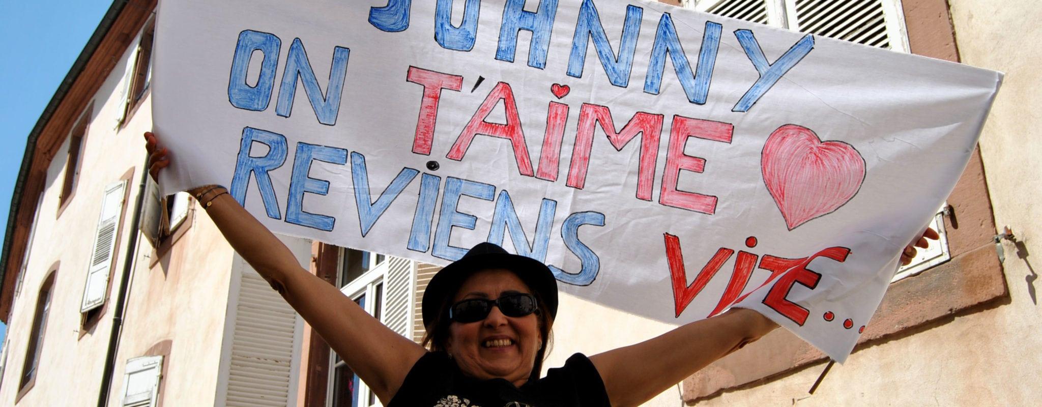 À Haguenau, avec les irréductibles fans de Johnny Hallyday