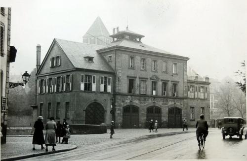 Les quais Finkwiller au début du siècle dernier. (Photo: CC/ Wikimedia)