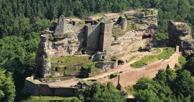 Château du Fleckenstein (Crédit Route des châteaux d'Alsace)