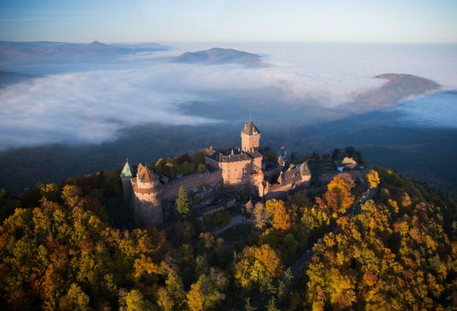 Château du Haut-Kœnigsbourg (Crédit OT Sélestat)