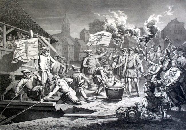 Hirsebreifahrt (par Johann Conrad Werdmuller / Wikimedia Commons / cc)