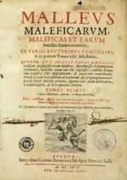 Une édition de 1669 du Malleus Meleficarium. (Photo: CC/ Wikimedia)