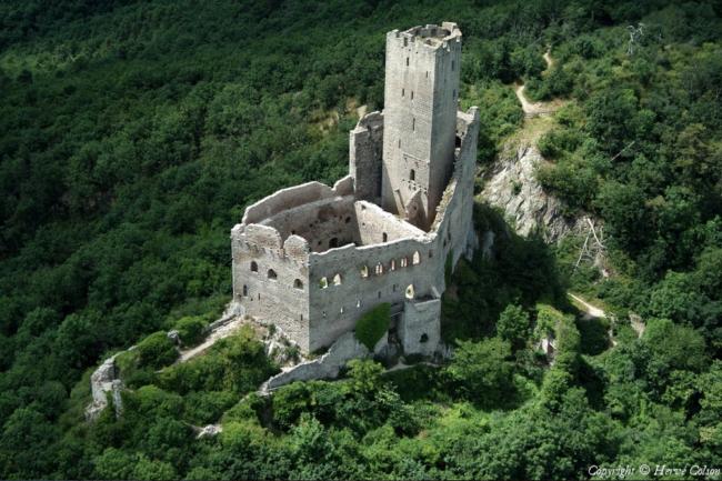 Château d'Ortenbourg (Crédit Hervé Colson / Survol de France)