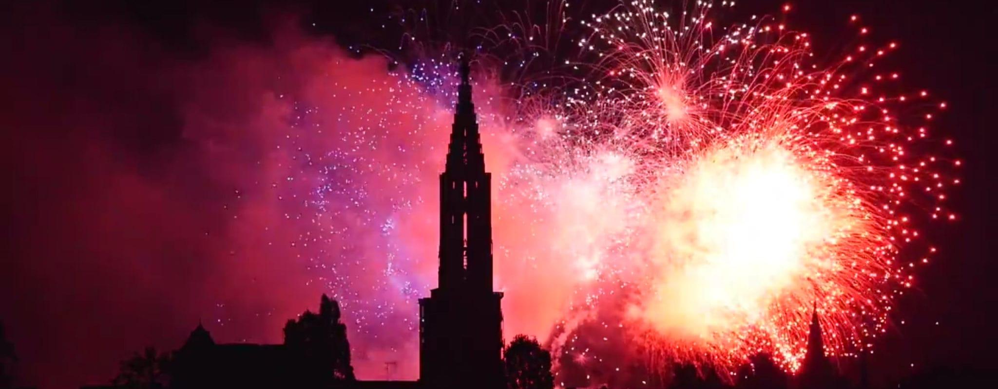Revivez en vidéo le feu d'artifice du 14 juillet