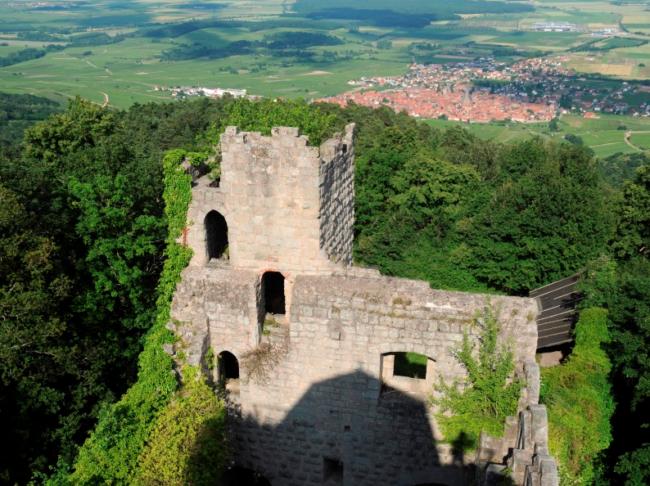 Château du Bernstein (Crédit Office de tourisme du Pays de Barr)