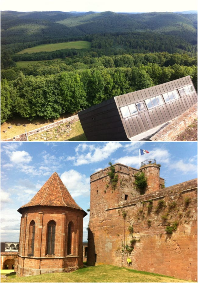Château de Lichtenberg, dans le pays de La Petite-Pierre (Photos MM / Rue89 Strasbourg)