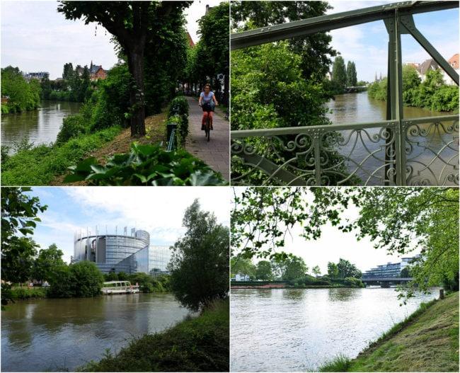 Quai Rouget-de-L'Isle puis quai du Bassin de l'Ill (Photos MM / Rue89 Strasbourg)