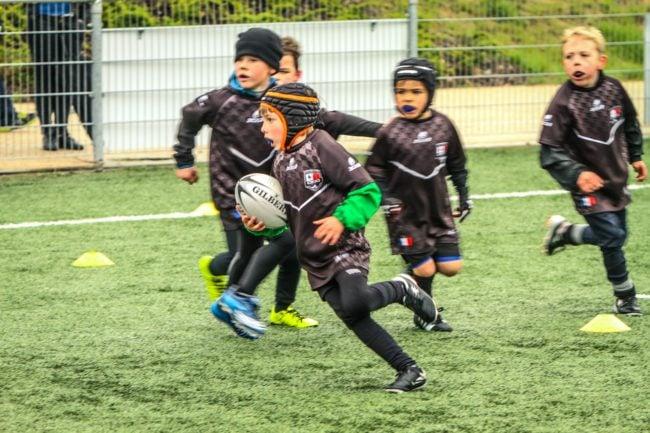Les juniors en pleine action (Document remis)