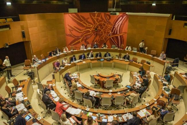 Le conseil municipal de Strasbourg comptera quatre nouveaux adjoints, suite aux 3 démissions du printemps 2016 (photo Pascal Bastien / Rue89 Strasbourg)