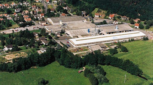 L'usine de fabrication et le siège de Voltec Solar à Dingsheim-sur-Souffel (photo Voltec Solar)