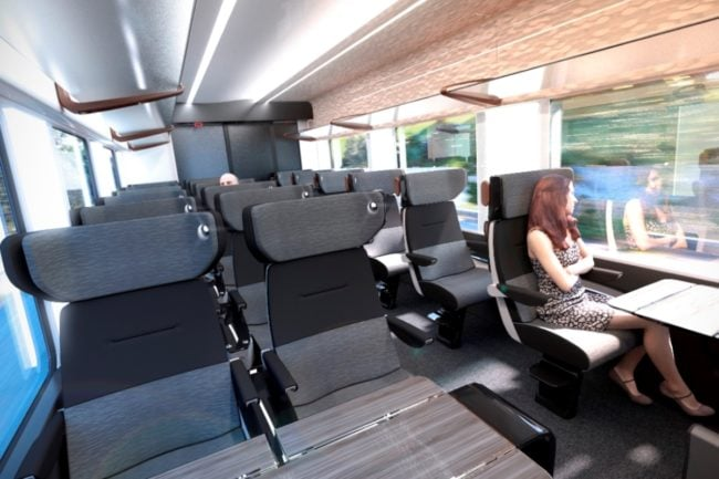 Le Coradia Liner d'Alstom doit équiper les prochains Intercités (doc Alstom)