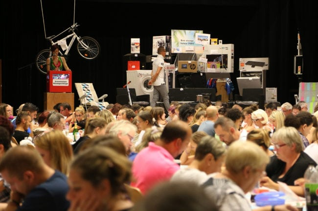 27 lots pour une valeur de 5000 à 6000 euros sont à gagner (photo LL / Rue89 Strasbourg)