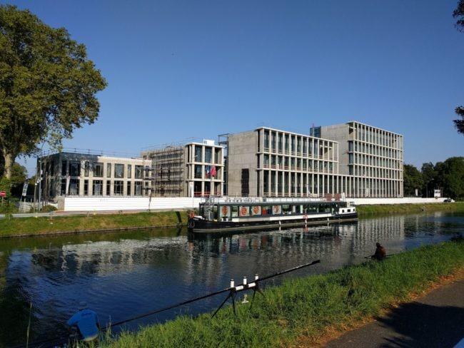 Le consulat de Turquie en travaux (Photo PF / Rue89 Strasbourg / cc)