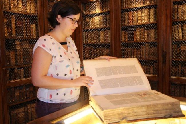 Les livres ont tous été restaurés (Photo CG / Rue89 Strasbourg / cc)