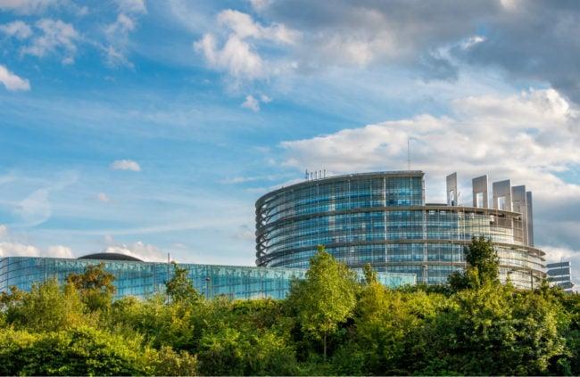 Sotralentz se targue d'avoir participé à la construction du bâtiment du Parlement Européen (Photo Caroline Alexandre/visualhunt/cc)
