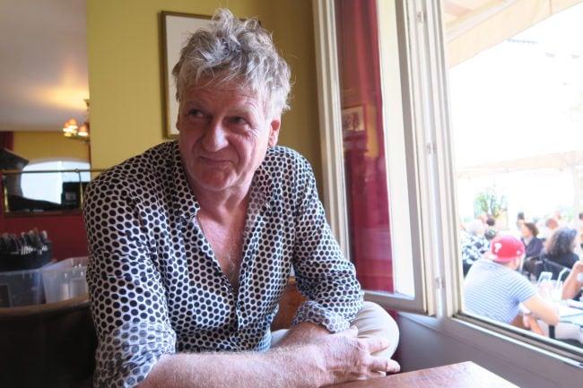 Rencontre avec Rodolphe Burger à Strasbourg (Photo MB / Rue89 Strasbourg)