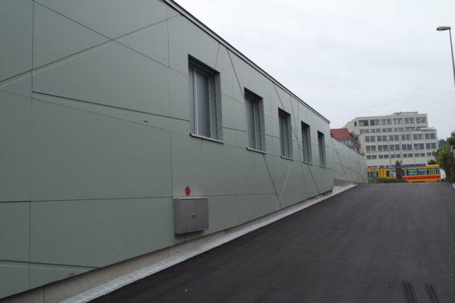 """A proximité du cimetière, la """"salle de shoot"""" se trouve aussi près du tram (Photo DL/Rue 89 Strasbourg/cc)"""